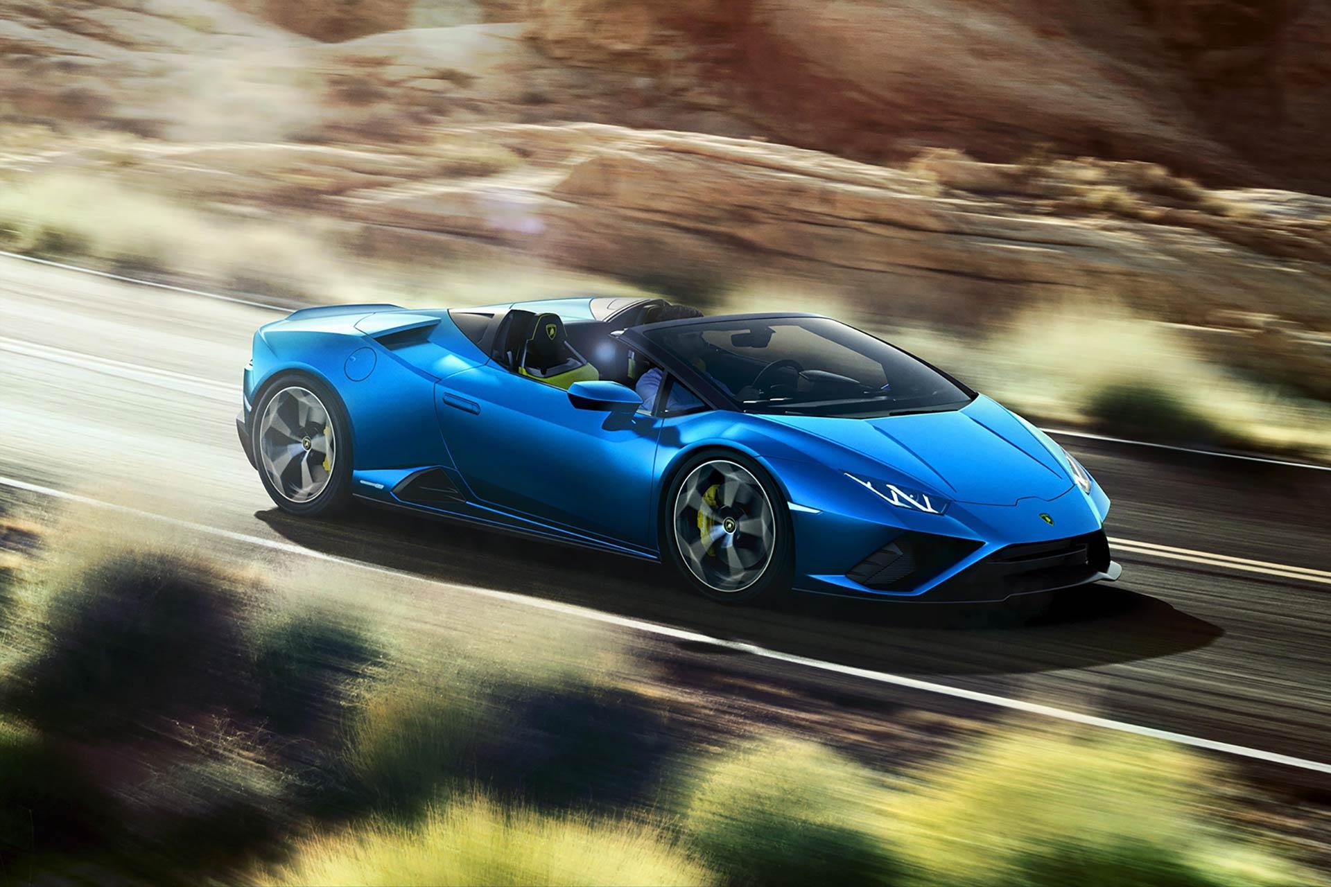 Der Lamborghini Huracán EVO Rear-Wheel Drive Spyder: Das Leben unter freiem Himmel zelebrieren