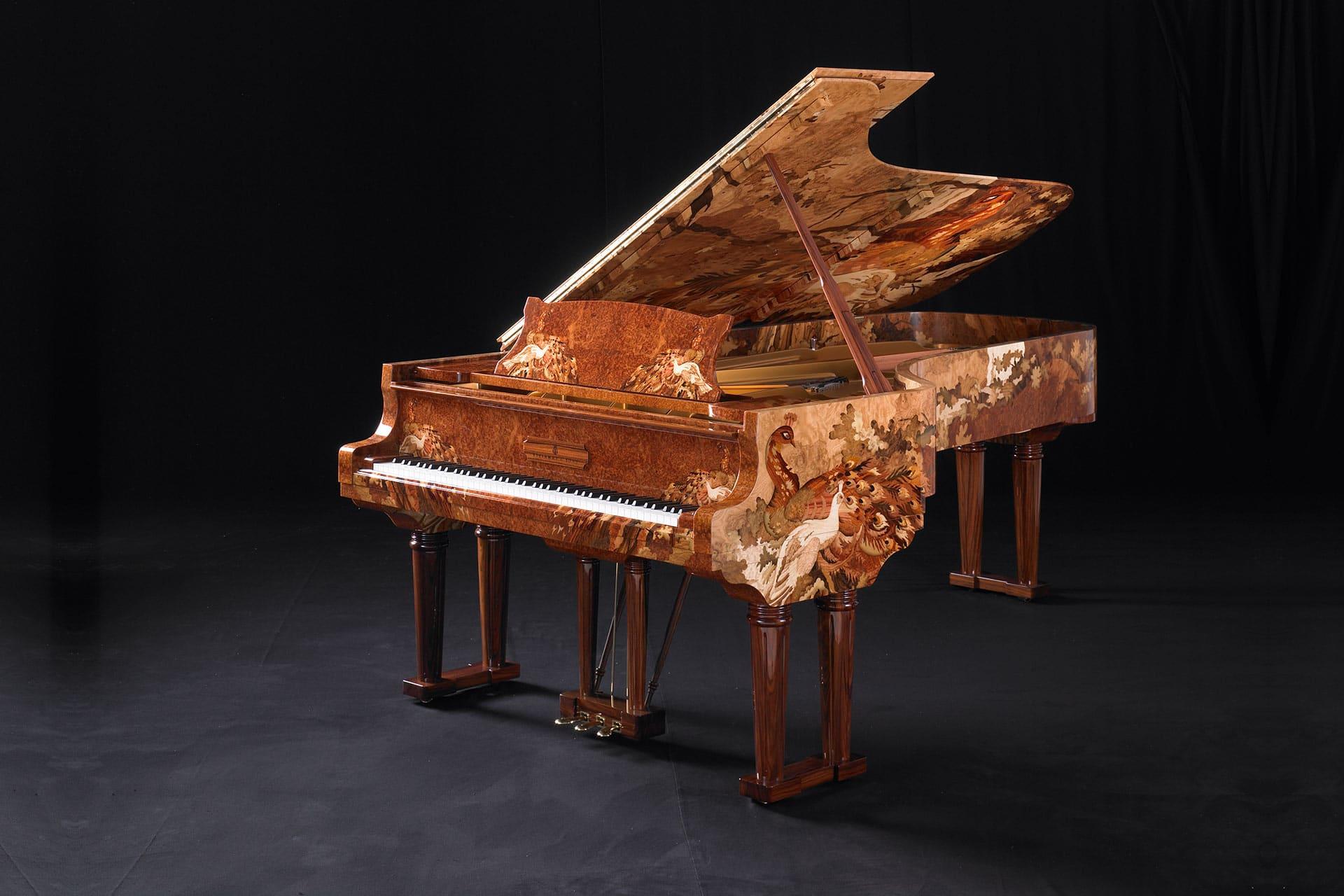 Steinway & Sons Art Cases: Meisterstücke der Kunst und Musik