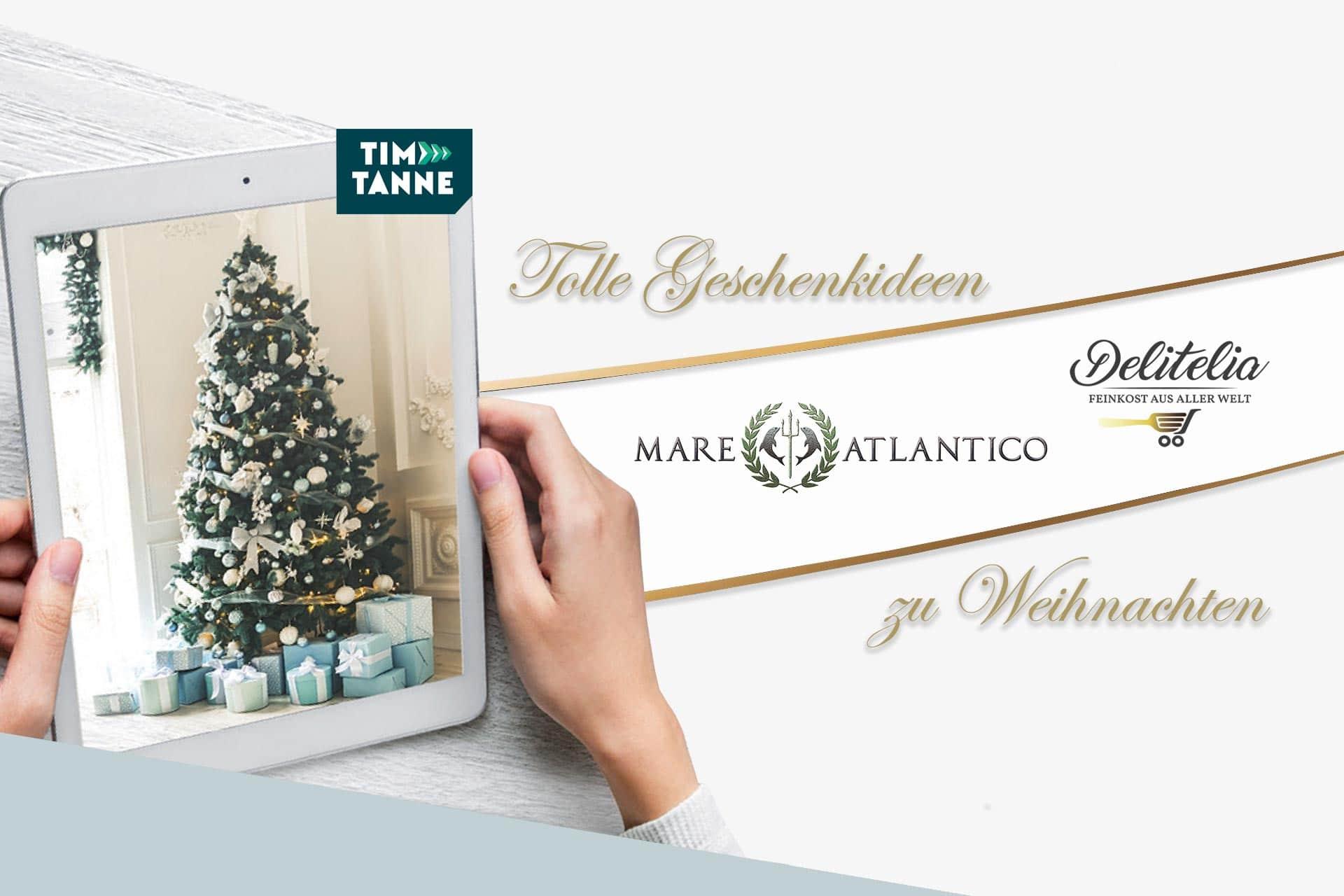 Weihnachtsvorfreude mit Weihnachtsaktionen bei Delitelia & Mare Atlantico