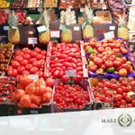 Frisches Gemüse bei Mare Atlantico