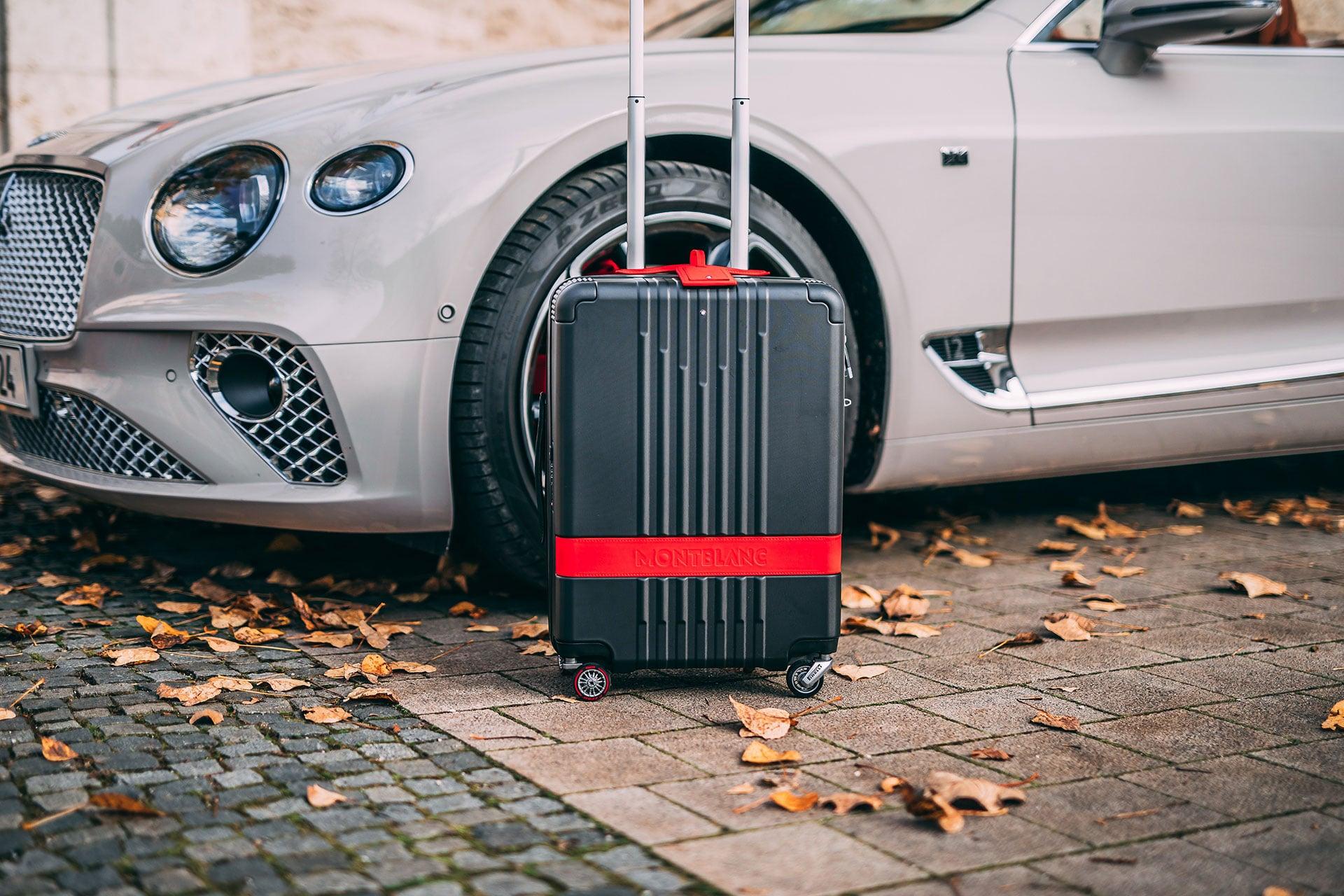 Montblanc und Pirelli Design präsentieren neue Reisegepäck-Linie
