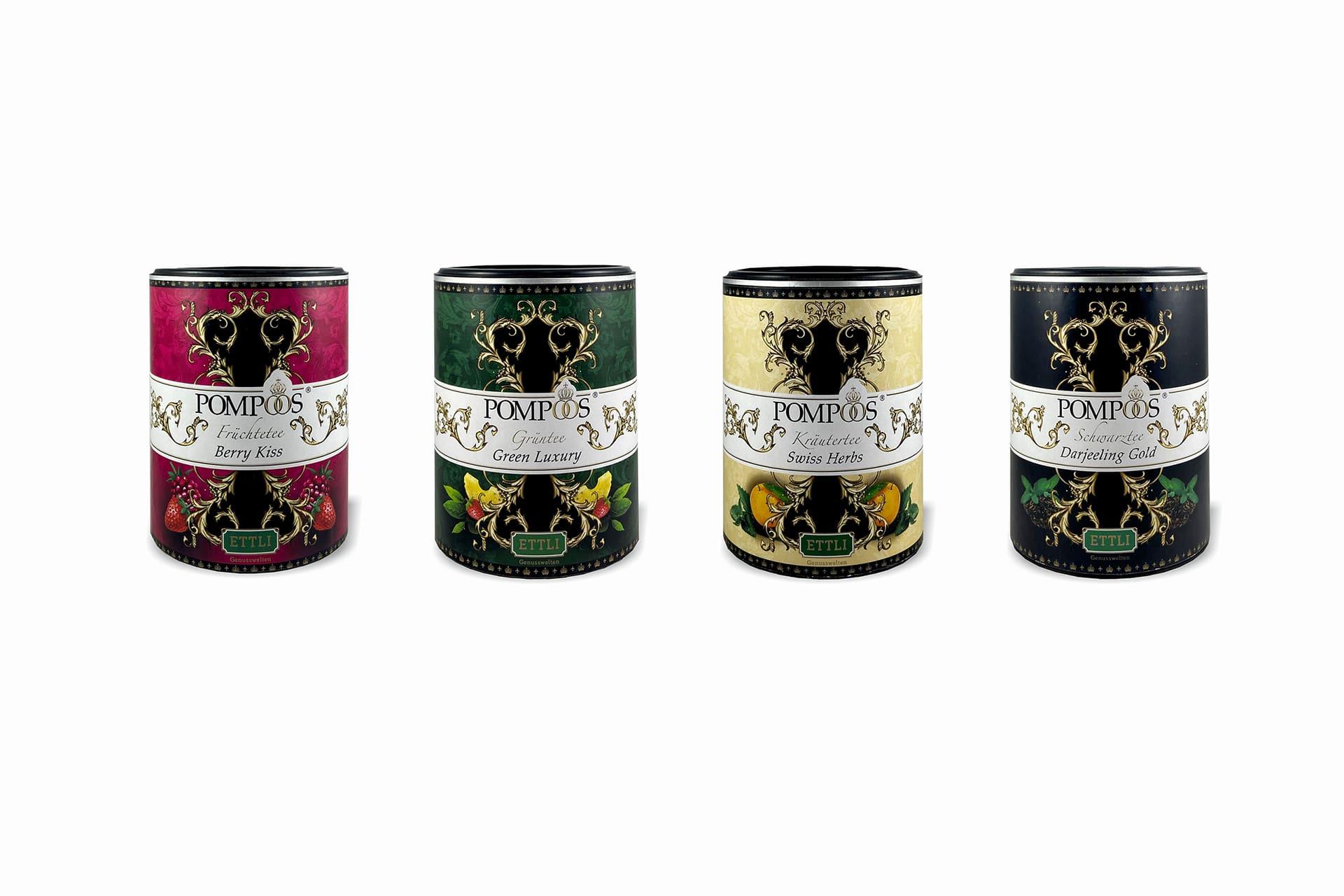 ETTLI entwickelt POMPÖÖS-Teekollektion für HARALD GLÖÖCKLER