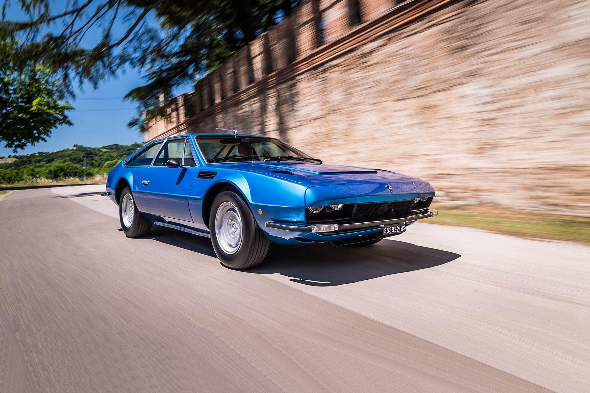 Lamborghini feiert das 50-jährige Jubiläum des Jarama GT