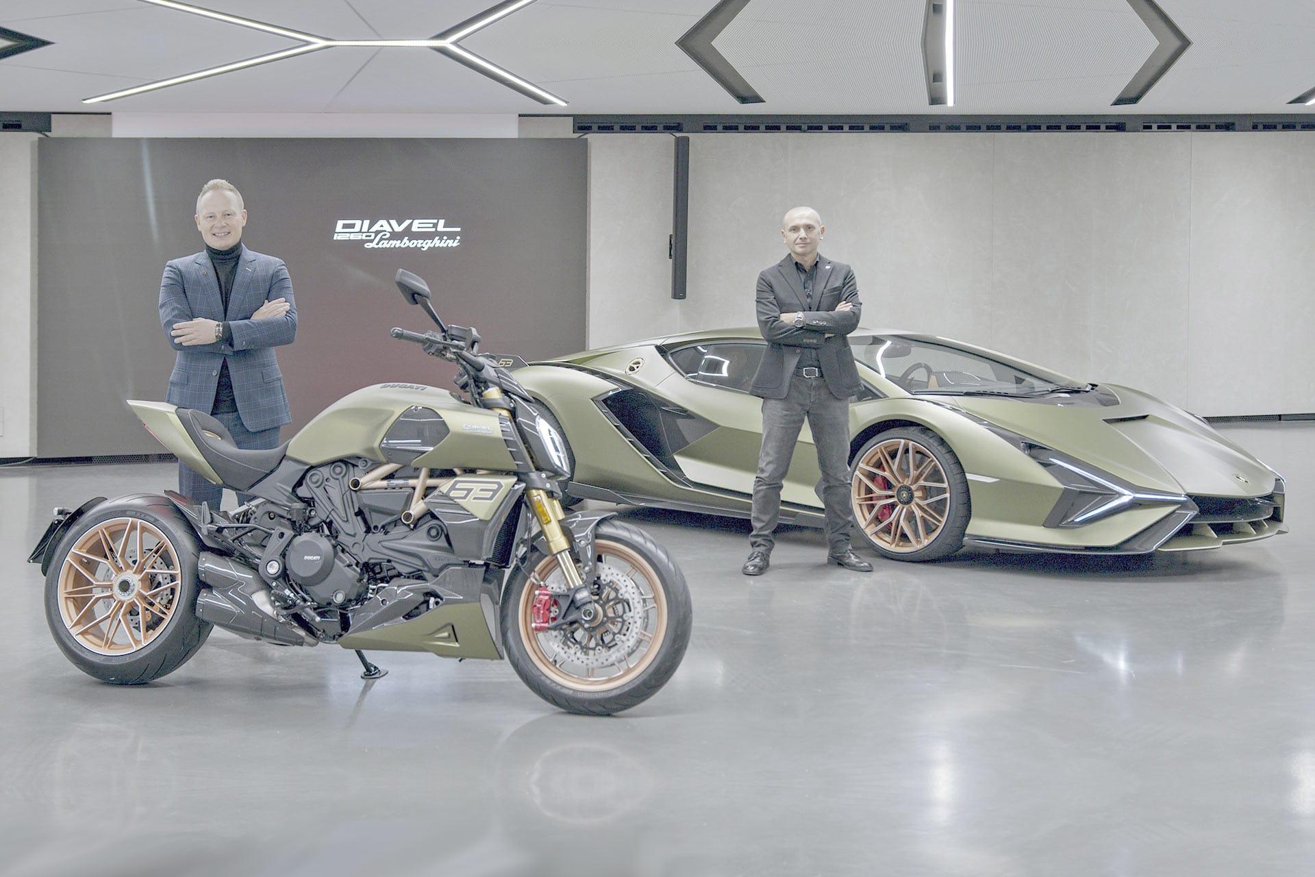 Limitierter Luxus – Ducati Diavel 1260 Lamborghini