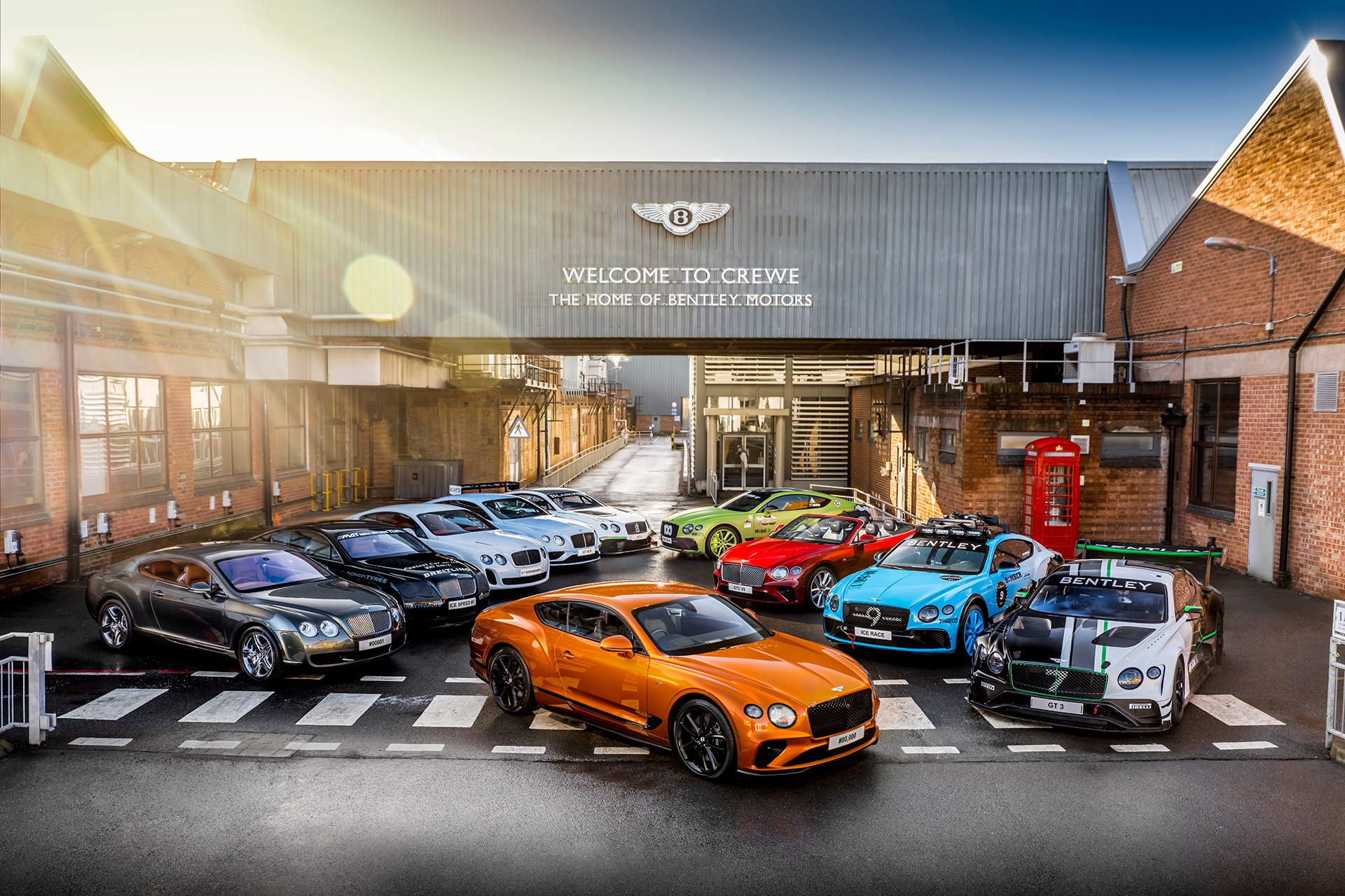 Bentley – 80.000 DES CONTINENTAL GT