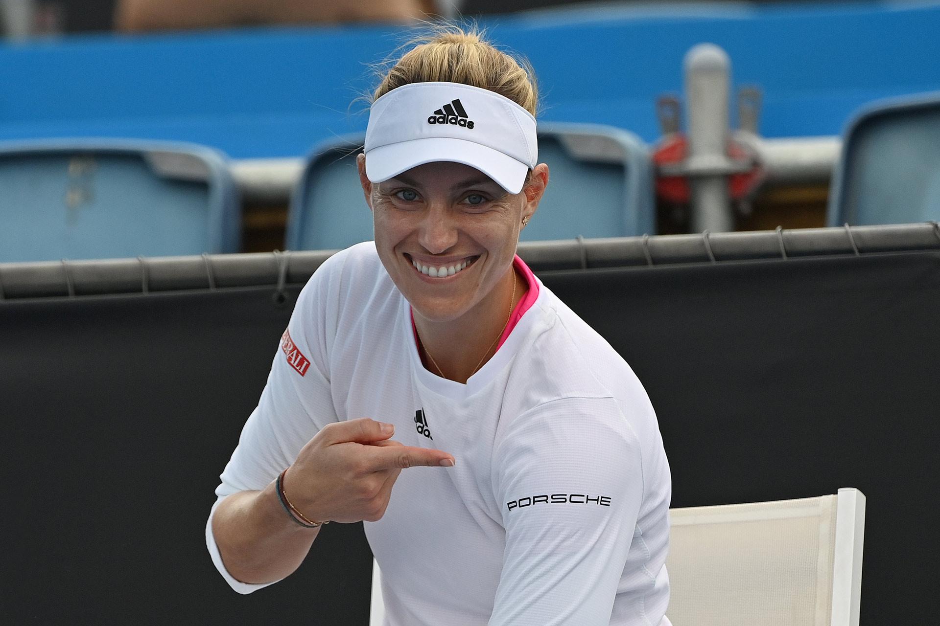 Interview mit Porsche-Markenbotschafterin Angelique Kerber vor den Australian Open