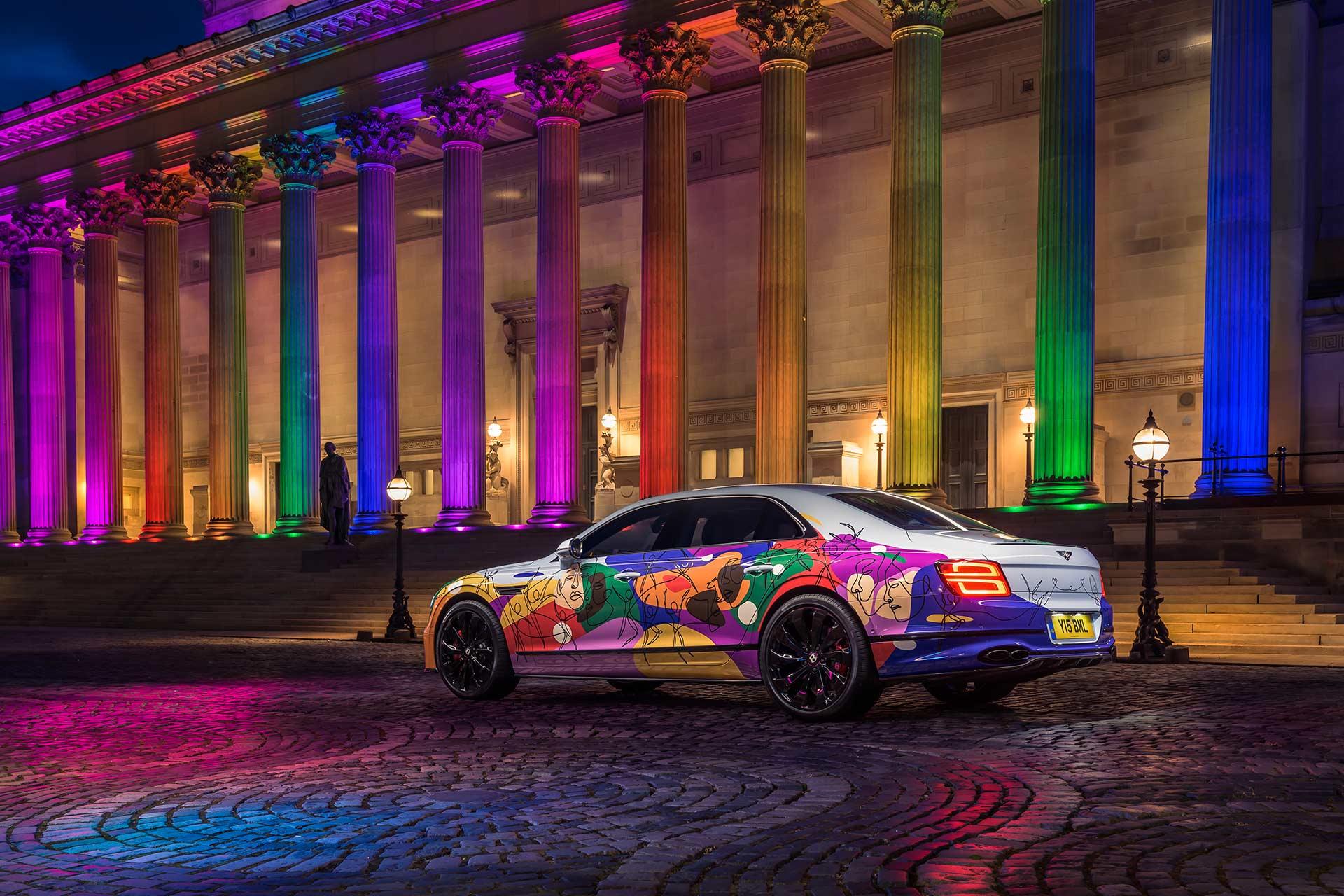 UNIFYING SPUR: Bentley präsentiert ein ganz besonderes Flying Spur Kunstwerk