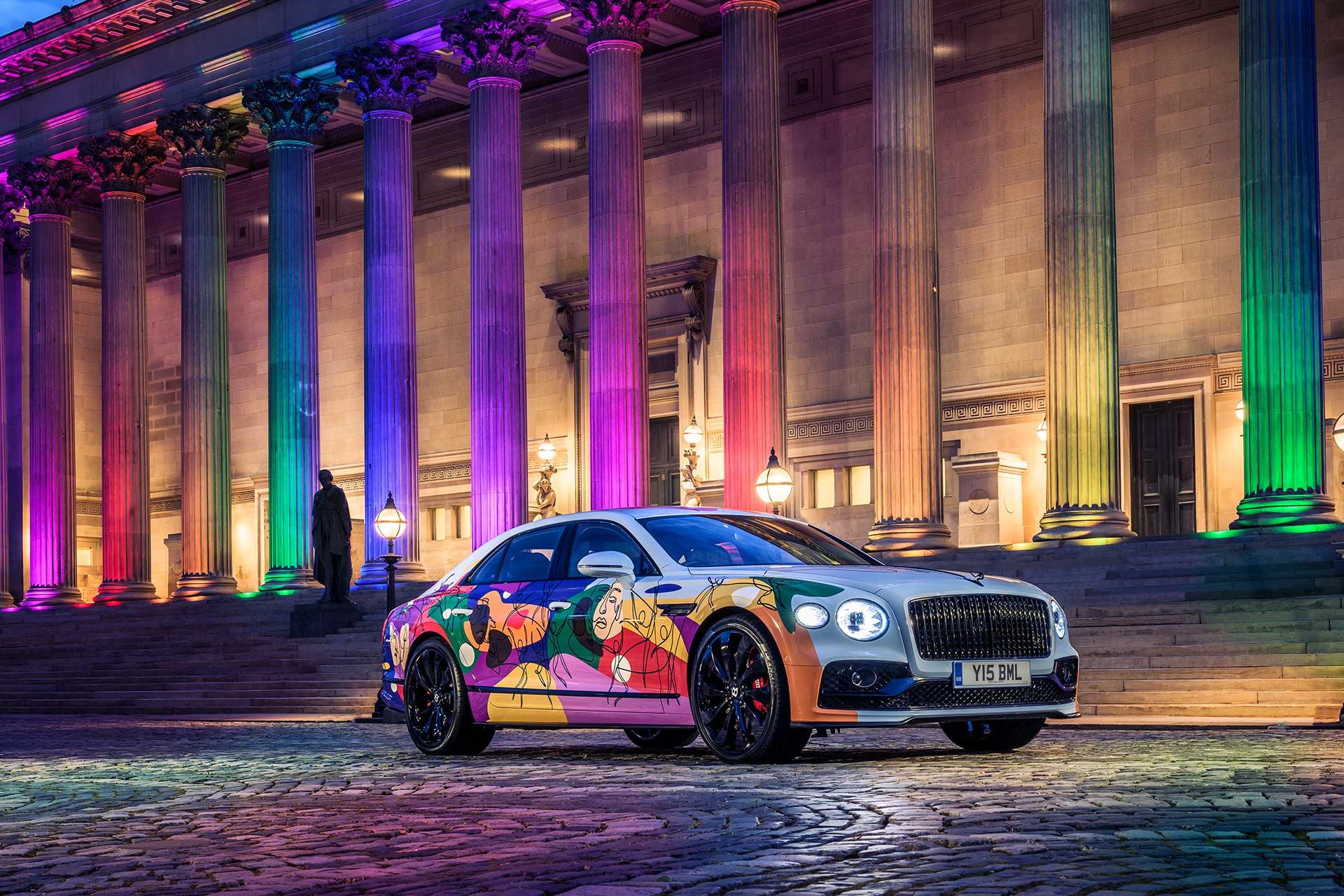 The Bentley Unifying Spur Ansicht von vorne