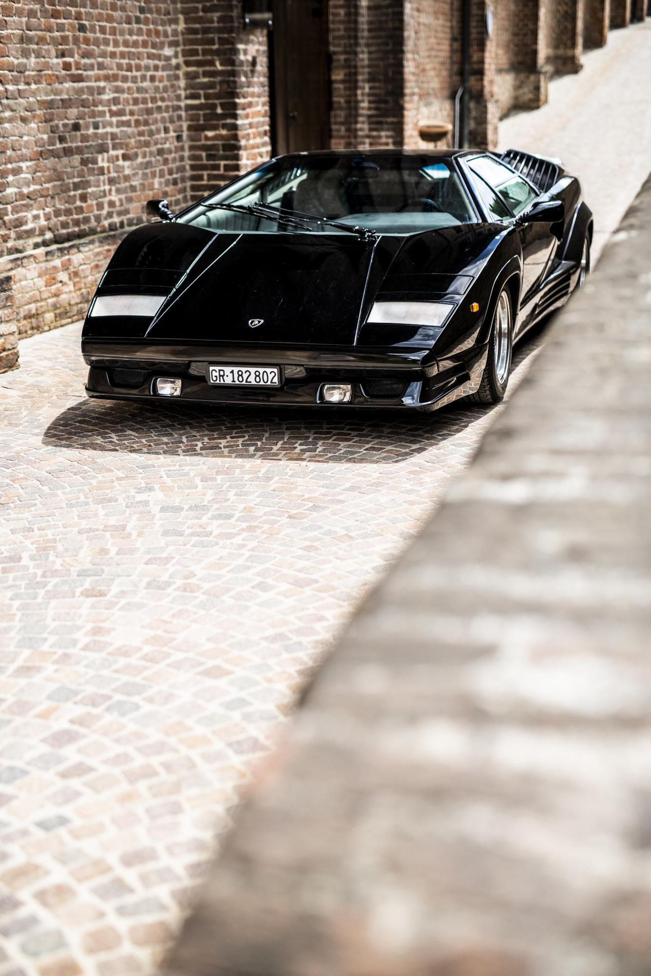 Lamborghini Countach 25° Anniversario Remi Dargegen