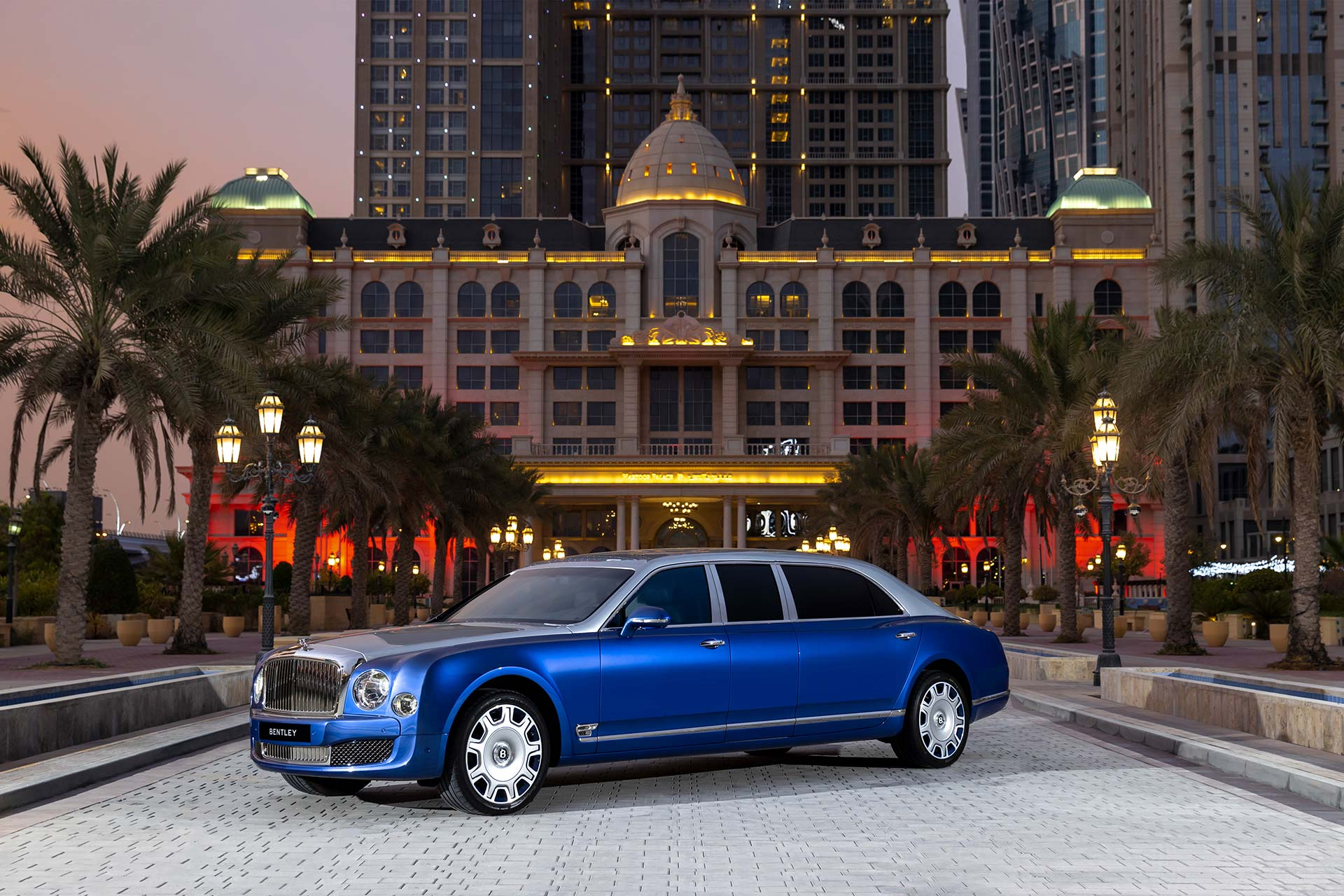 Mulsanne Grand Limousine von Bentley