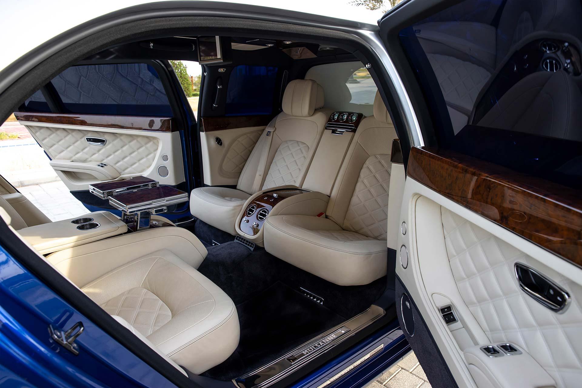 Mulsanne Grand Limousine Innenraum