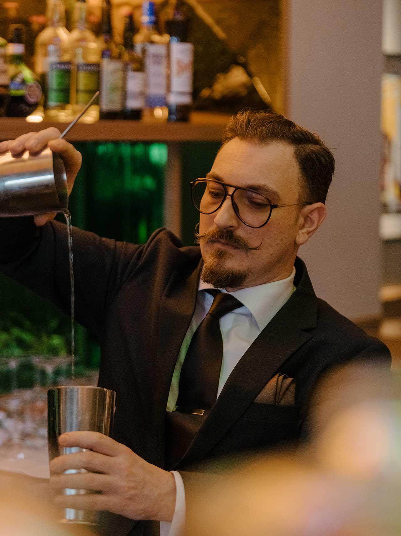 Bar Manager Michael Nagy
