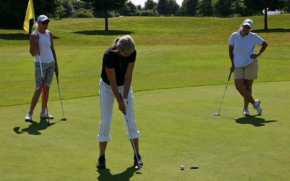 Golfen mit Herz