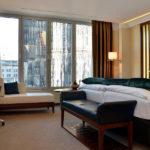 Althoff Dom Hotel Köln Zimmer mit Blick auf den Kölner Dom