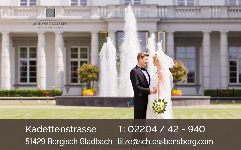 Heiraten im Schloss Bensberg