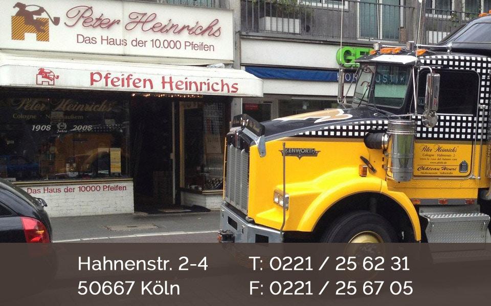 Pfeifen Heinrichs Cologne