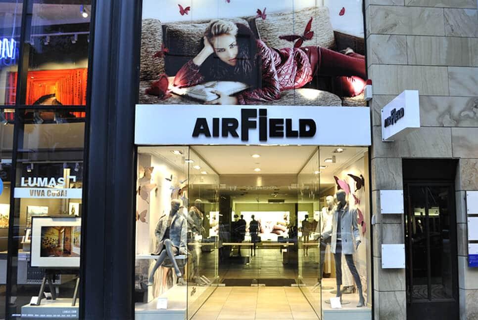 AIRFIELD Store Köln in der Mittelstrasse