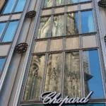 Chopard Boutique Köln mit Kölner Dom