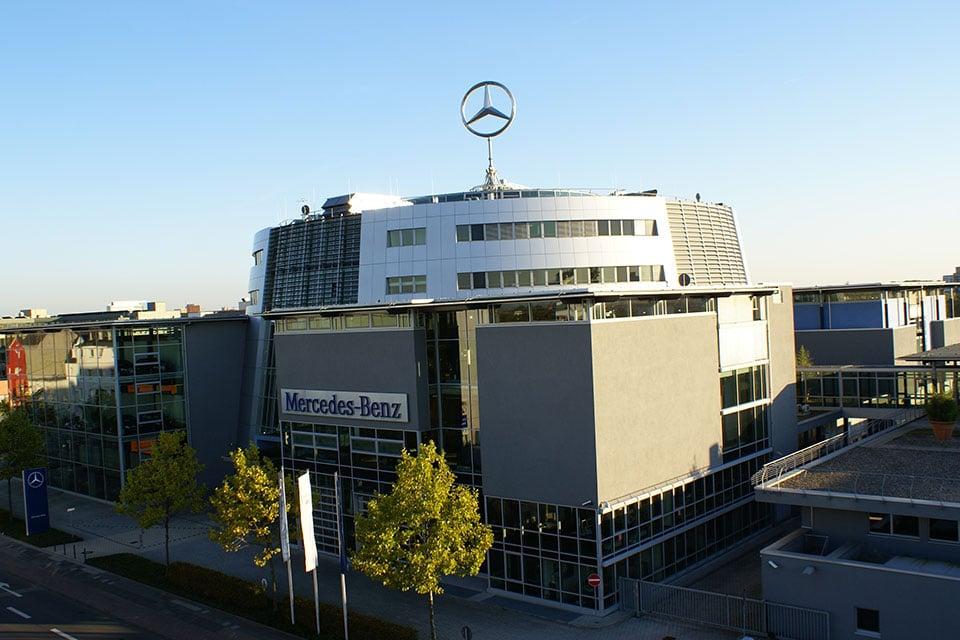 Das Mercedes-Benz Center Köln